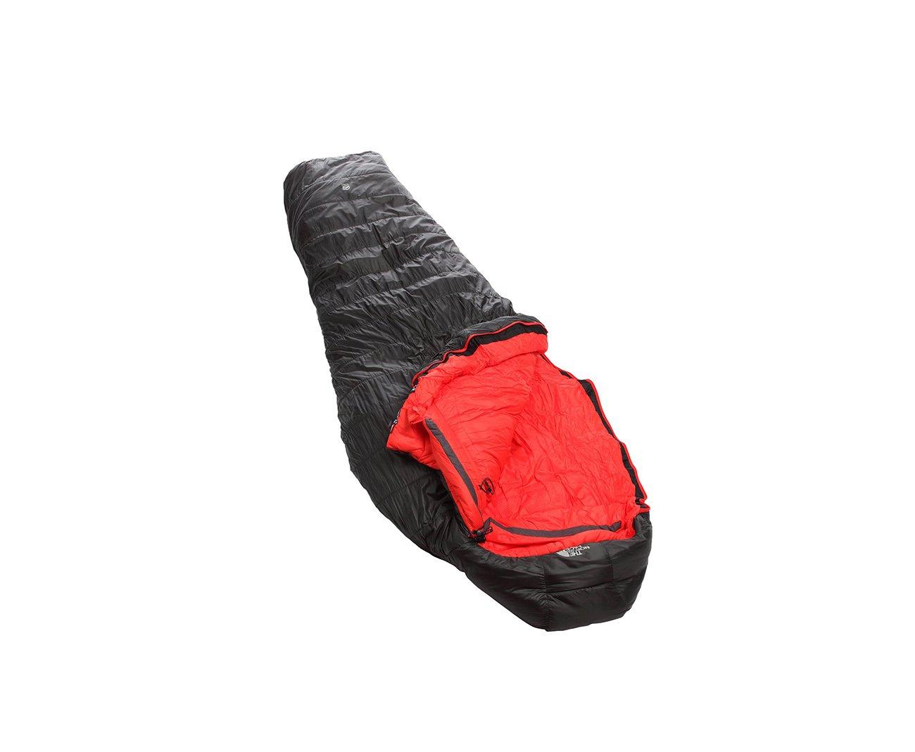 Saco De Dormir Dark Star -40°f / -40°c Grafite/vermelho - The North Face