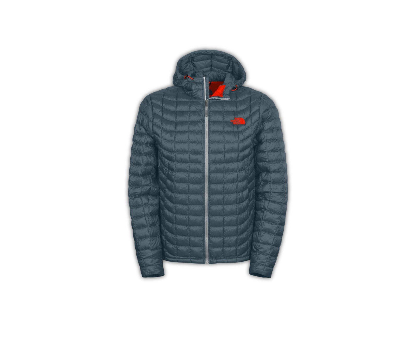 Jaqueta Thermoball Hoodie Masculina - Cinza - The North Face