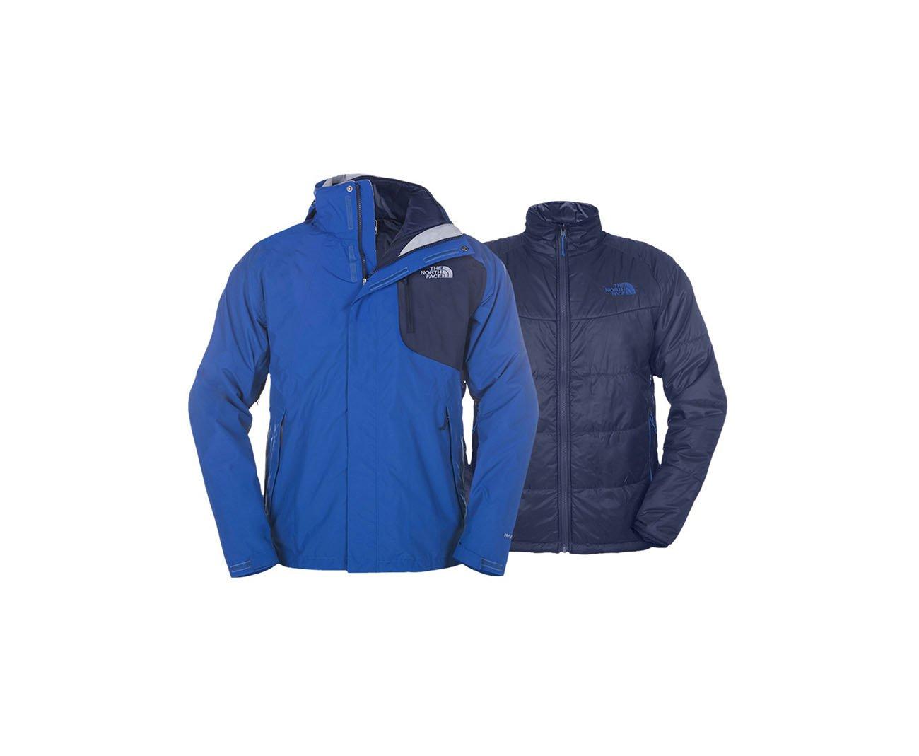 Jaqueta Carto Triclimate Masculina - Azul - The North Face