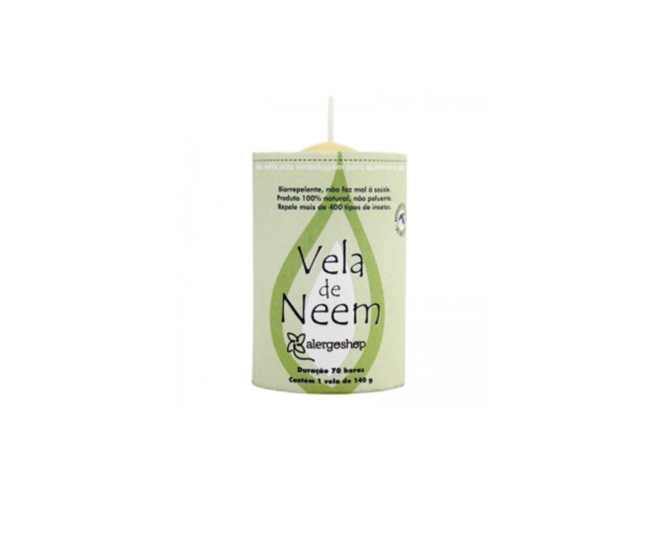 Vela Eco Neem 70hs - Alergoshop