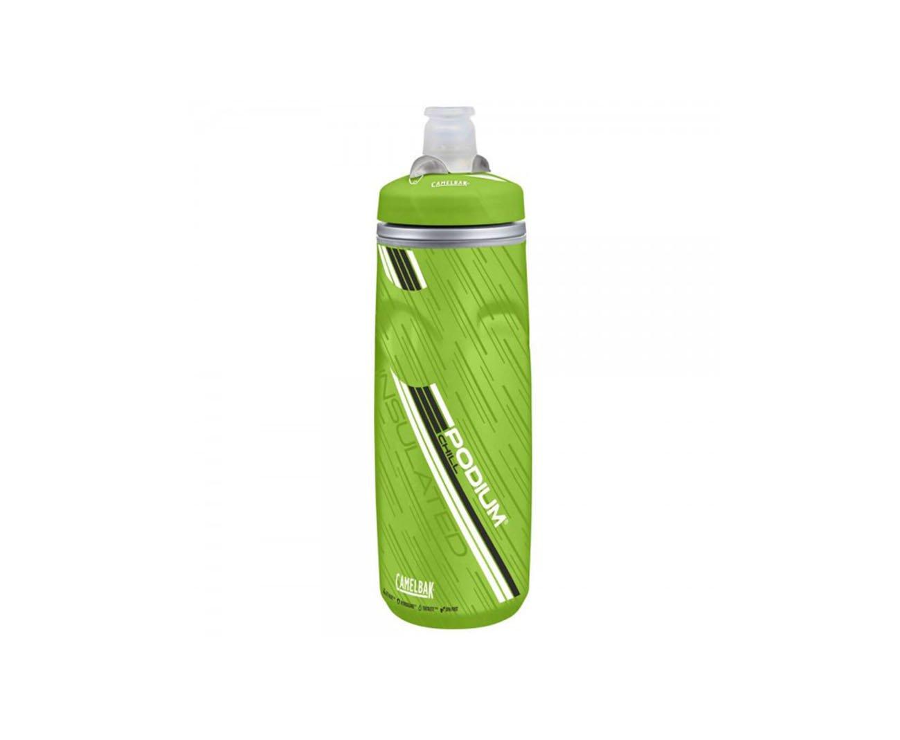 Garrafa Podium Chill 0,61l Cinza E Verde - Camelbak
