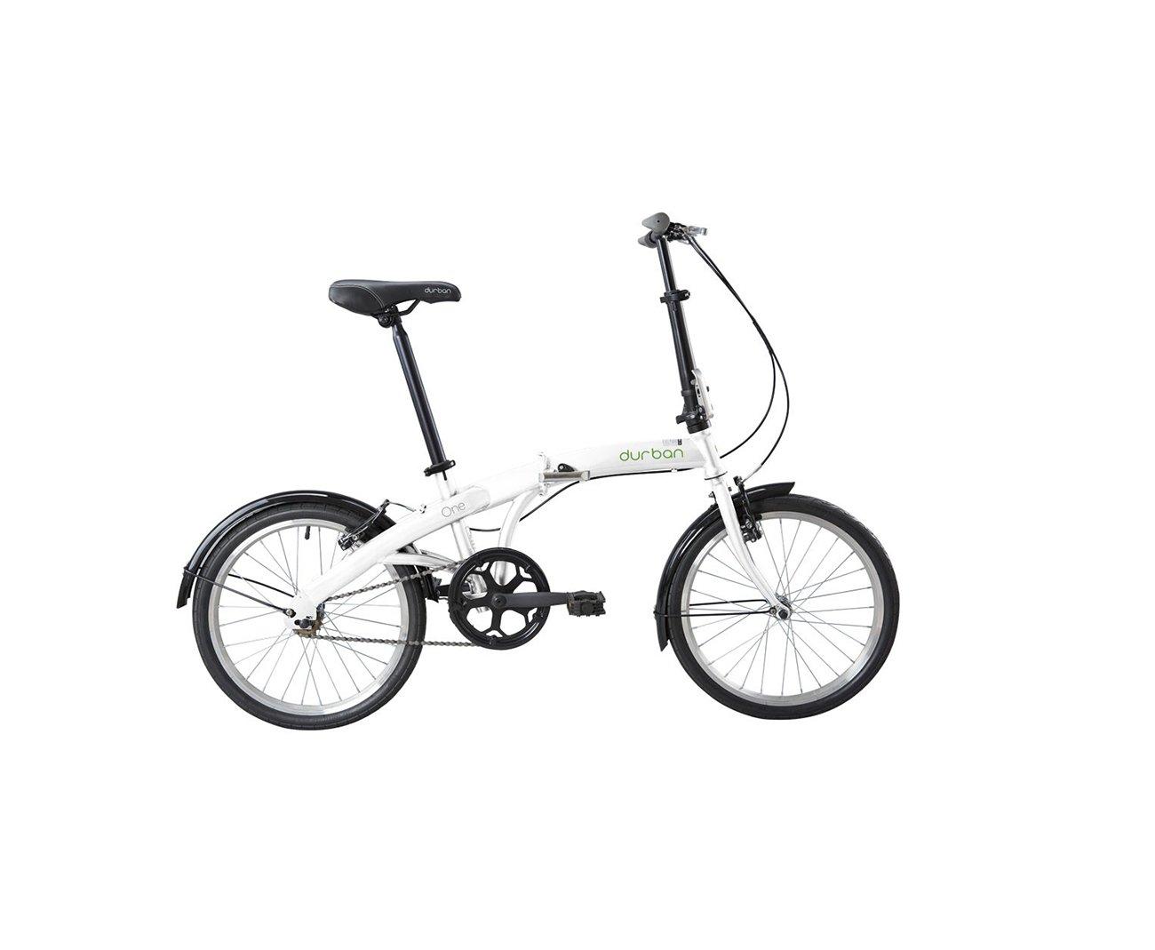 Bicicleta Durban Dobrável One Branco - Nautika