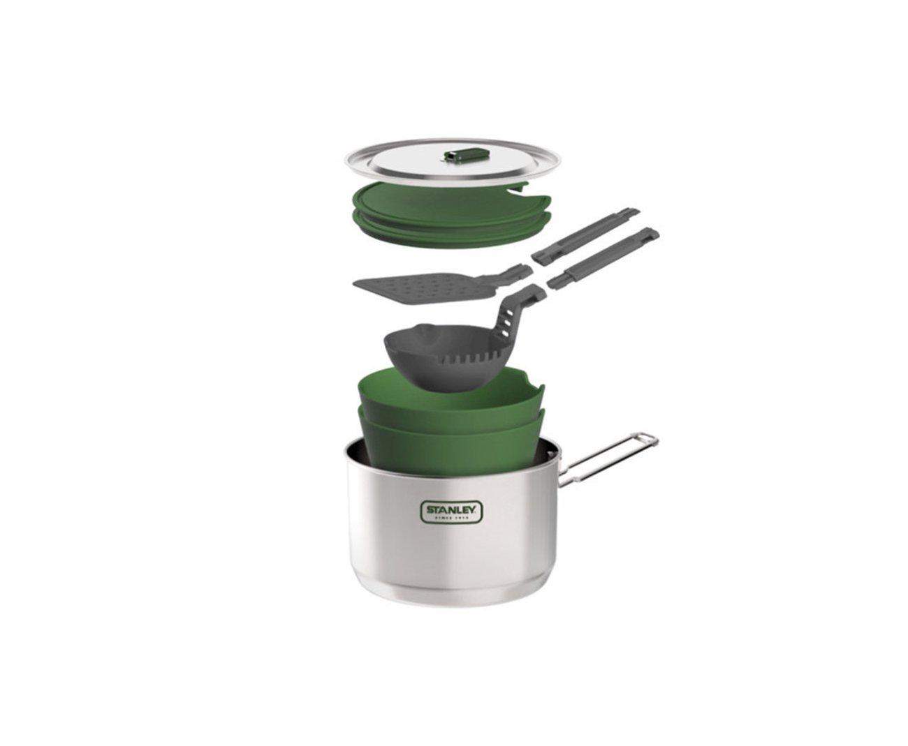 Kit Prep & Cook 10 Peças Stainless Steel 1.50l - Stanley