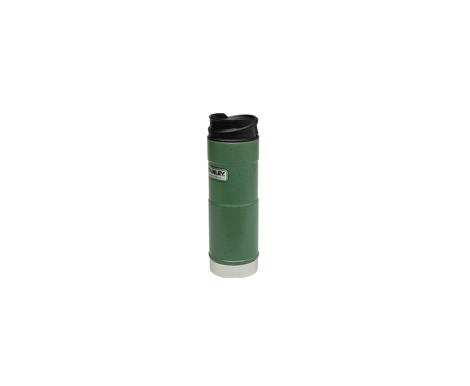 Garrafa Termica Stanley One Hand Hammertone Green 473ml