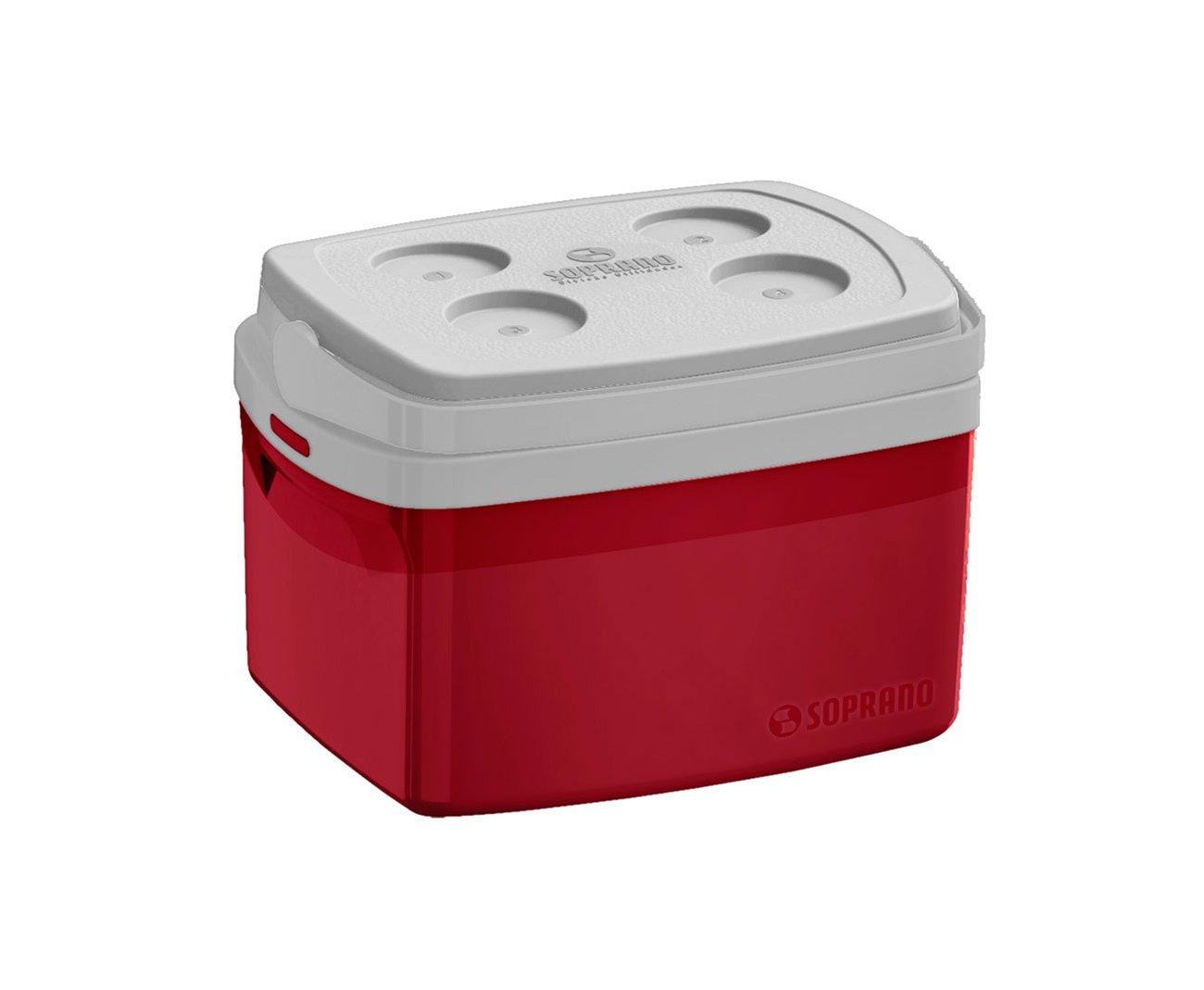 Caixa Termica Tropical 12l Vermelha - Soprano