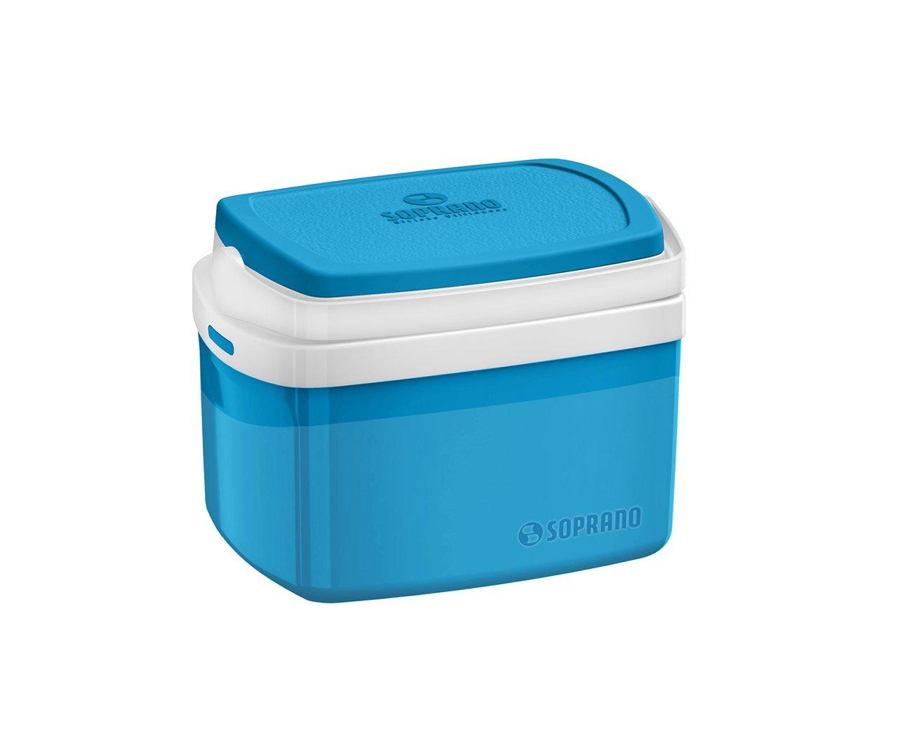 Caixa Termica Tropical 5l Azul - Soprano