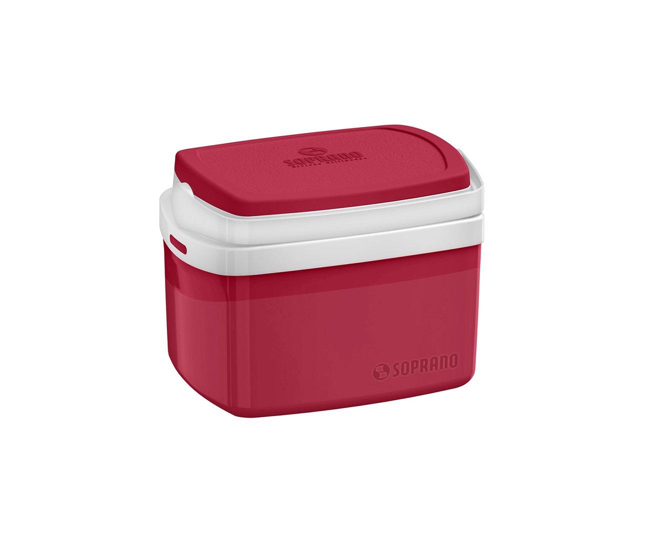Caixa Termica Tropical 5l Vermelha - Soprano