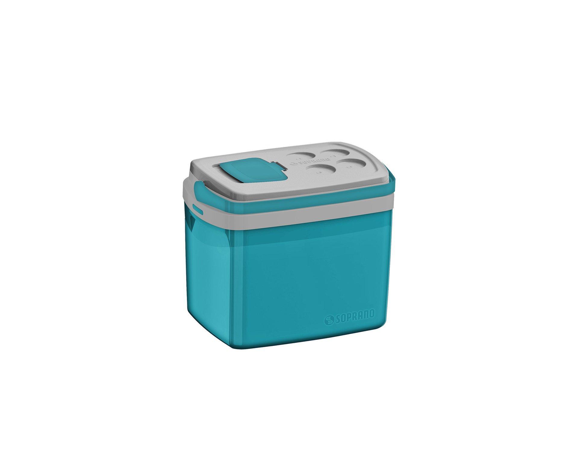 Caixa Termica Tropical 32l Azul - Soprano