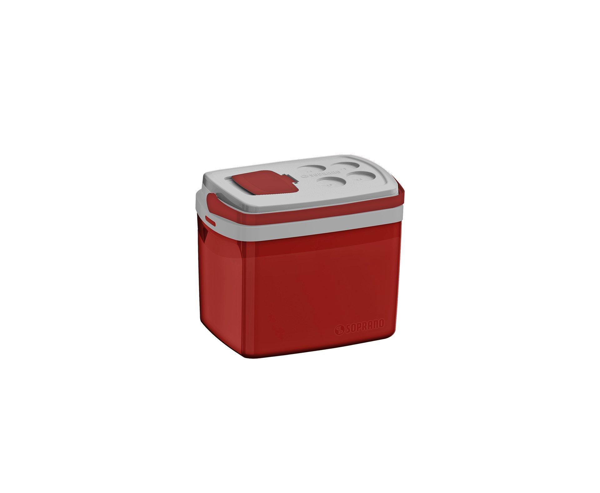 Caixa Termica Tropical 32l Vermelha - Soprano
