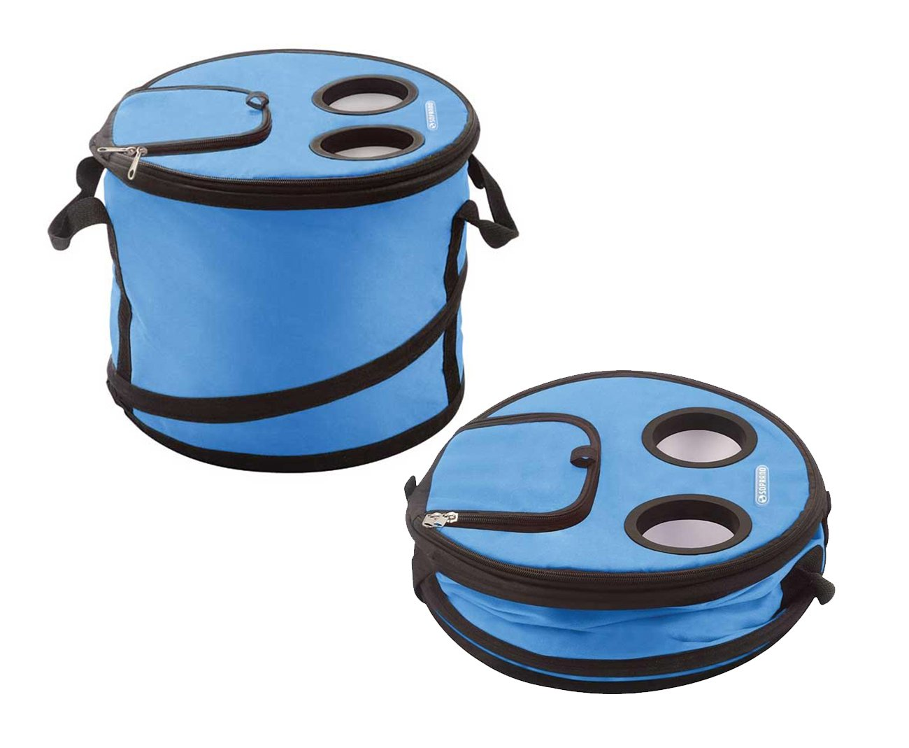 Cooler Termico Compacto 16l Azul - Soprano