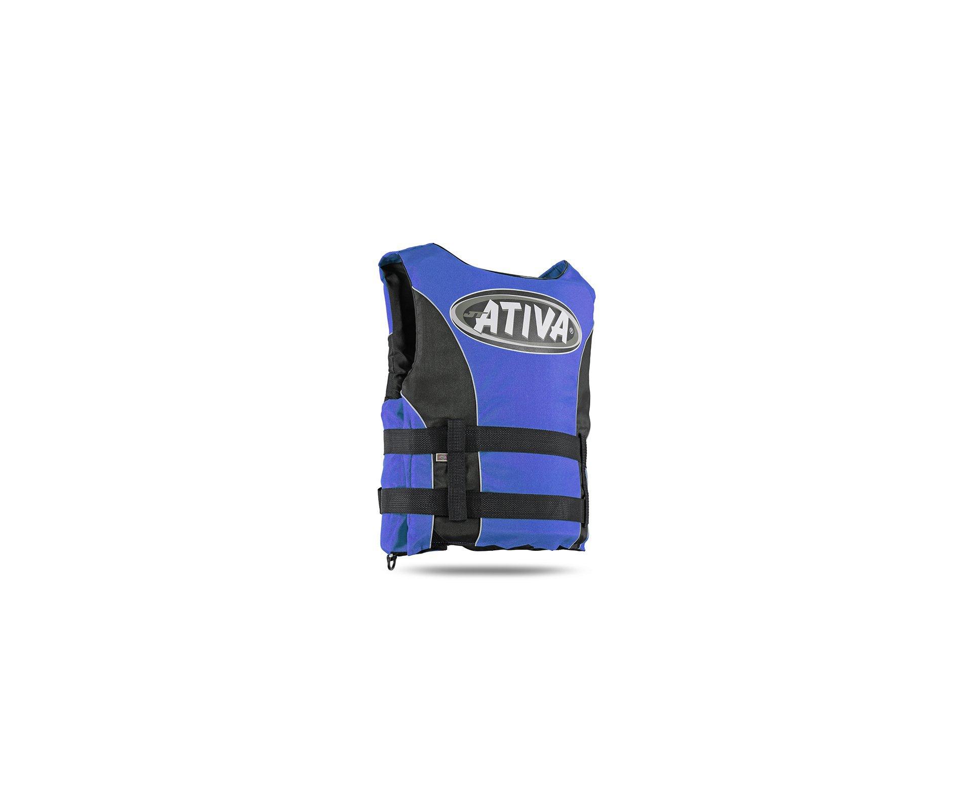Colete Salva Vidas Nautico Ativa 55  Azul - Ativa - P