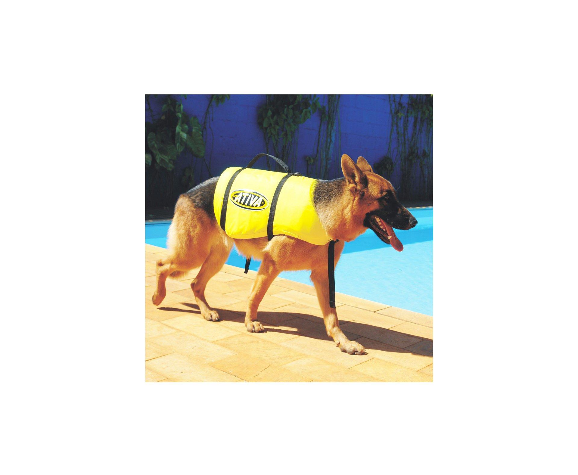 Colete Salva Vidas Para Cachorro Pet Vest Jt Ativa - Ativa - P