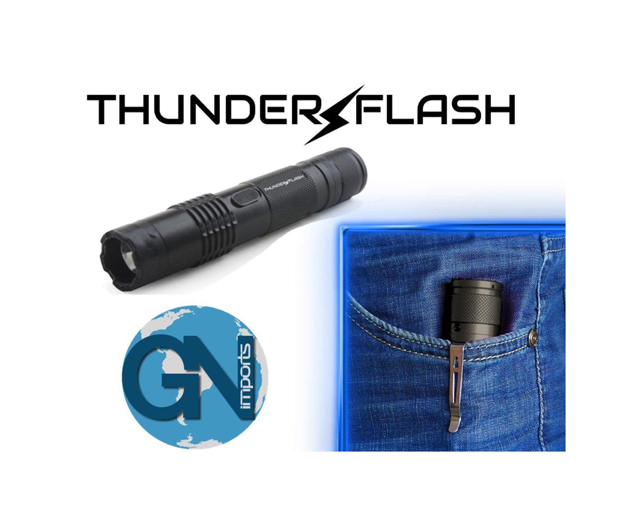 Aparelho De Choque Thunder Flash + Lanterna Tatica Portatil  - Gn Imports