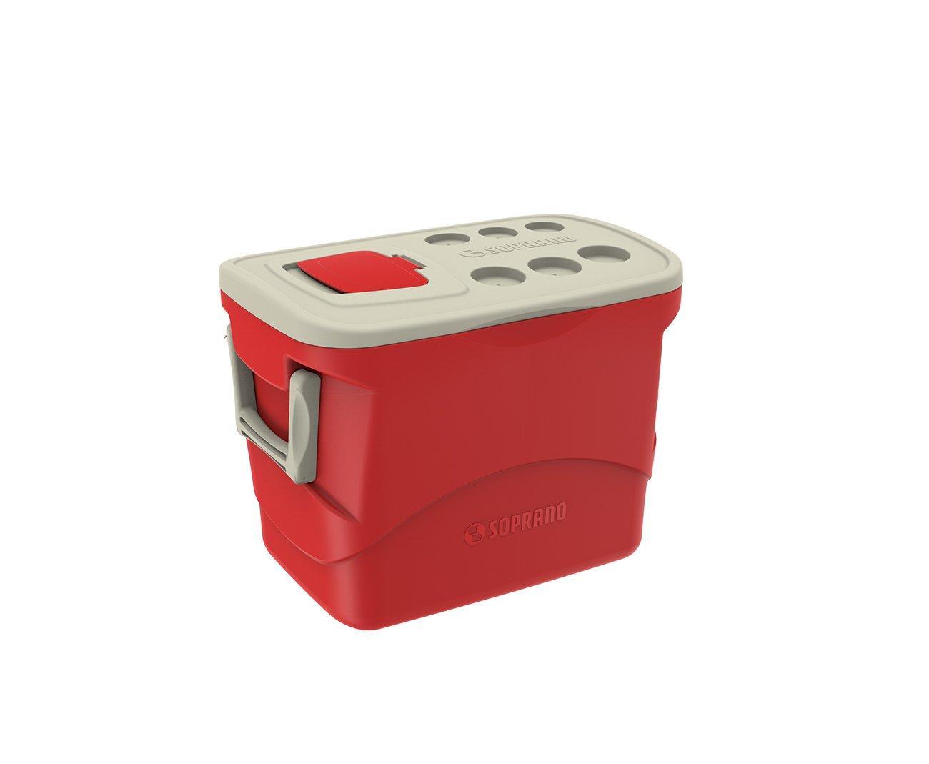 Caixa Termica Tropical 50l Vermelha - Soprano