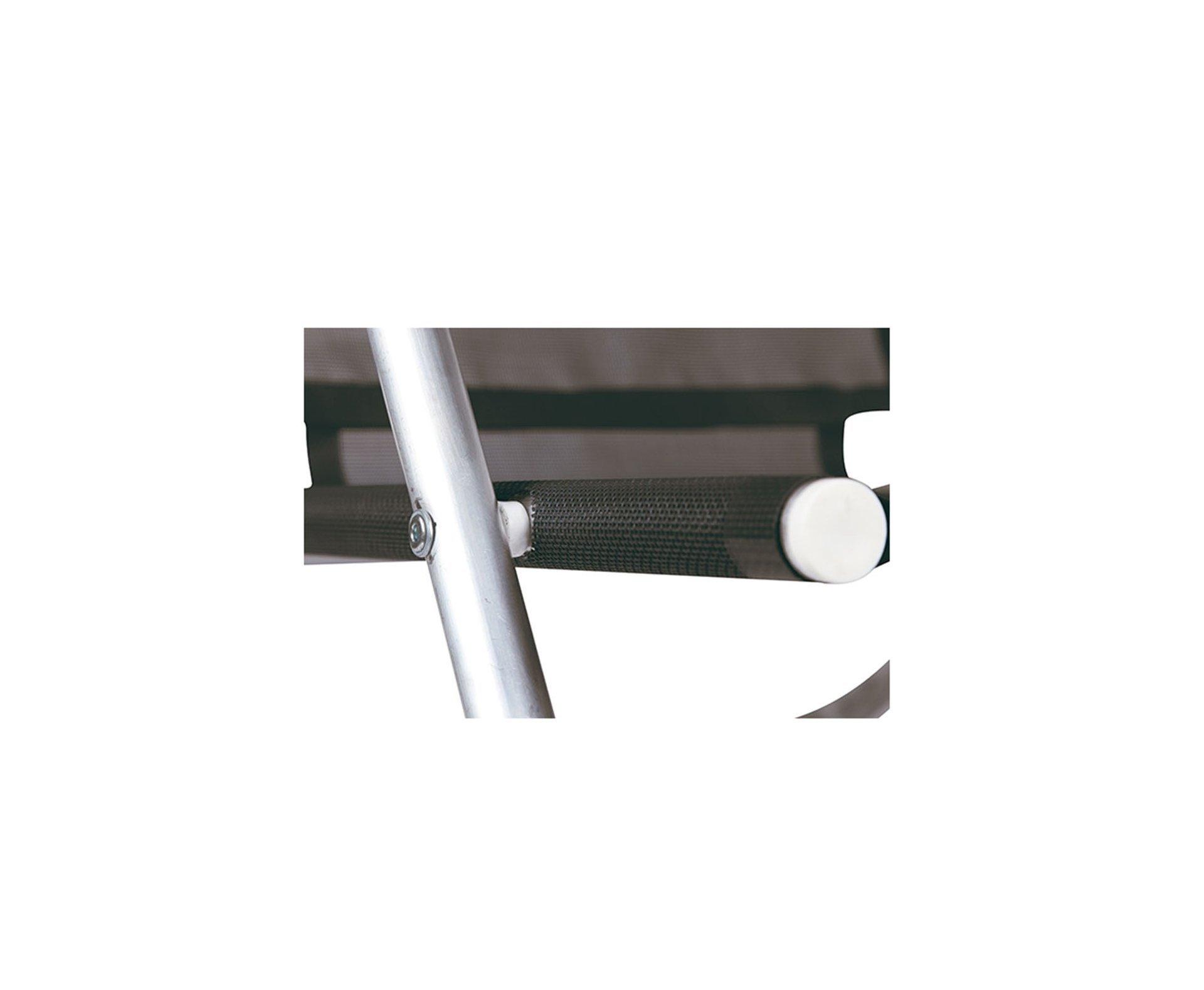 Cadeira Reclinável 5 Posições Em Alumínio - Preta - Mor