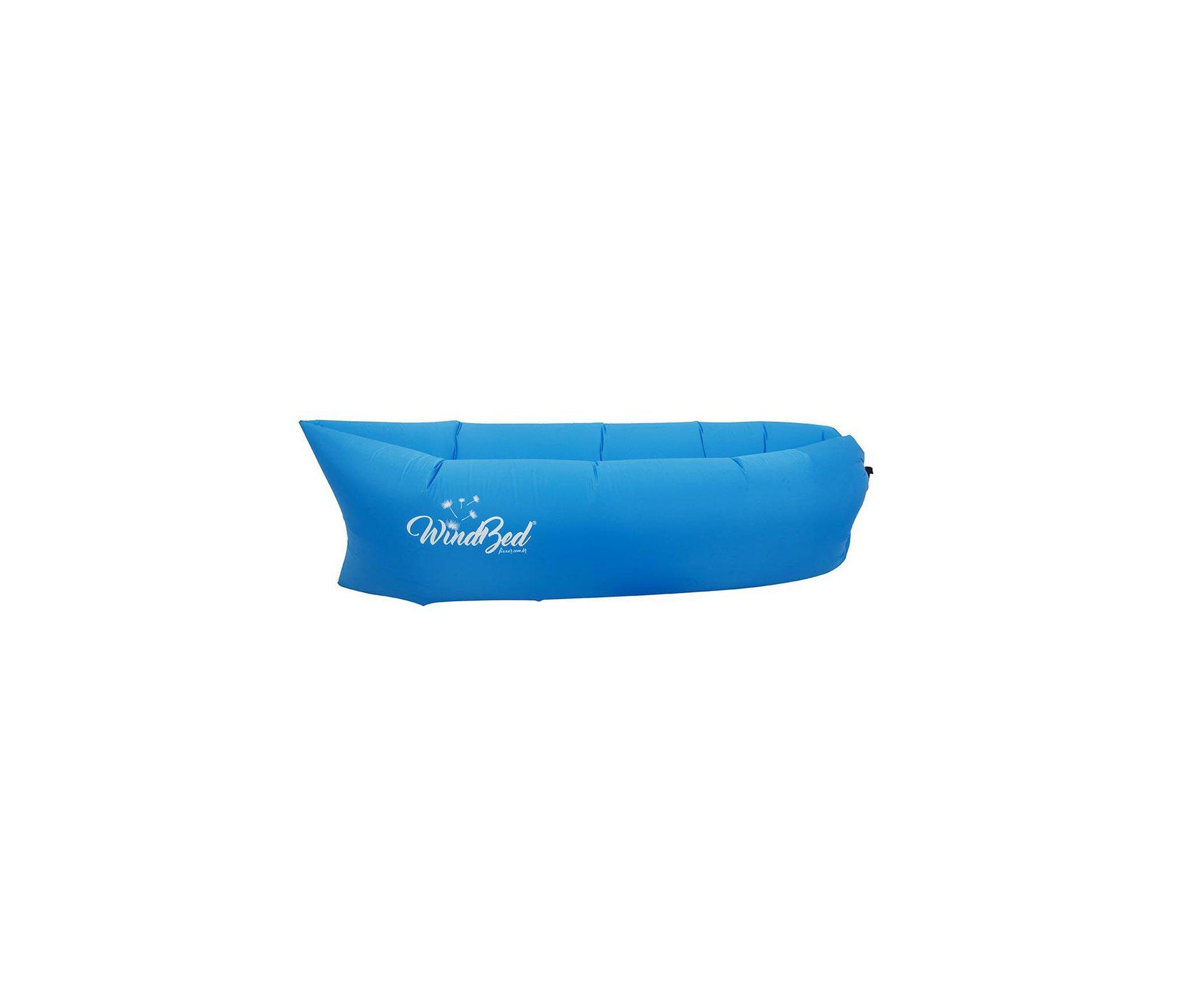 Windbed Sofá Inflável Azul - Fixxar
