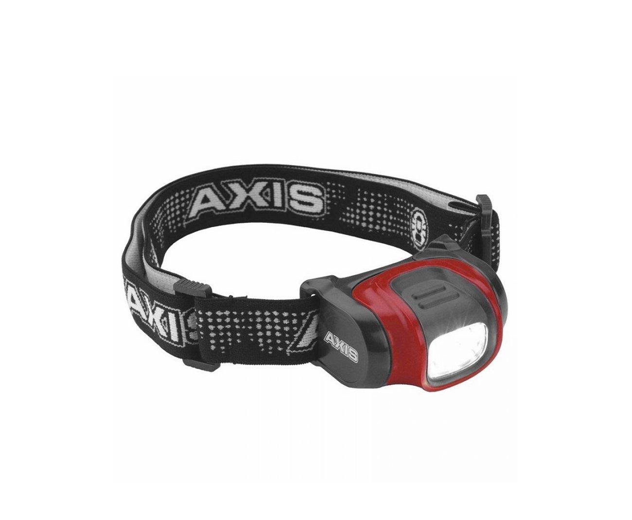 Lanterna De Cabeça Led Axis - Vermelho Coleman