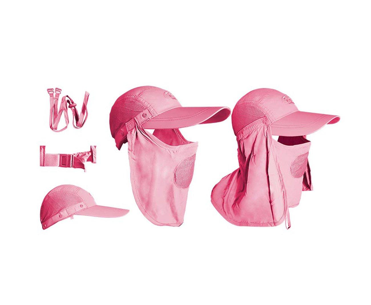 Boné Albatroz Camp C/ Proteção De Pescoço E Rosto Rosa - Albatroz