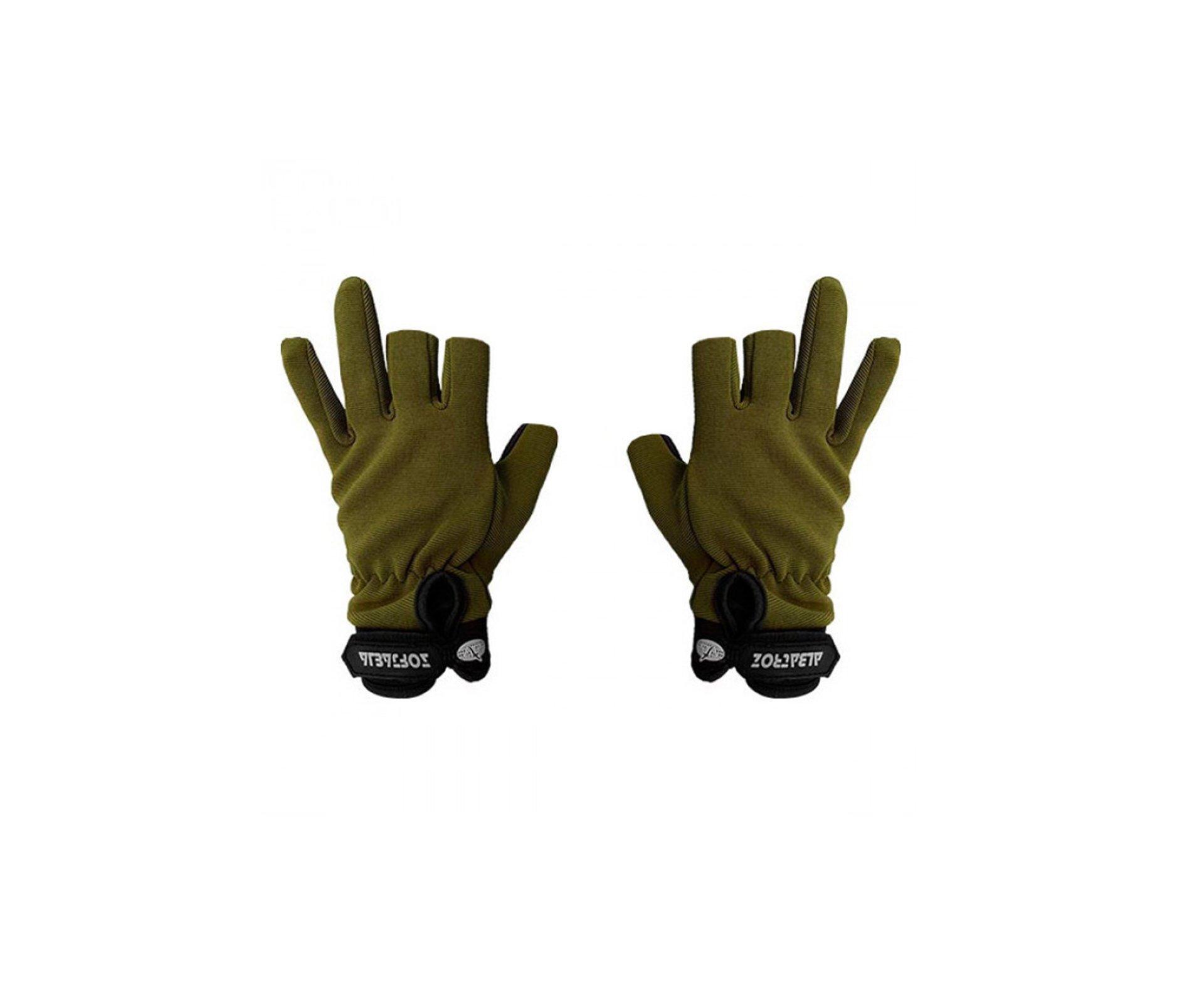 Luva Tatica Sniper Sensitive Verde - Albatroz - GG