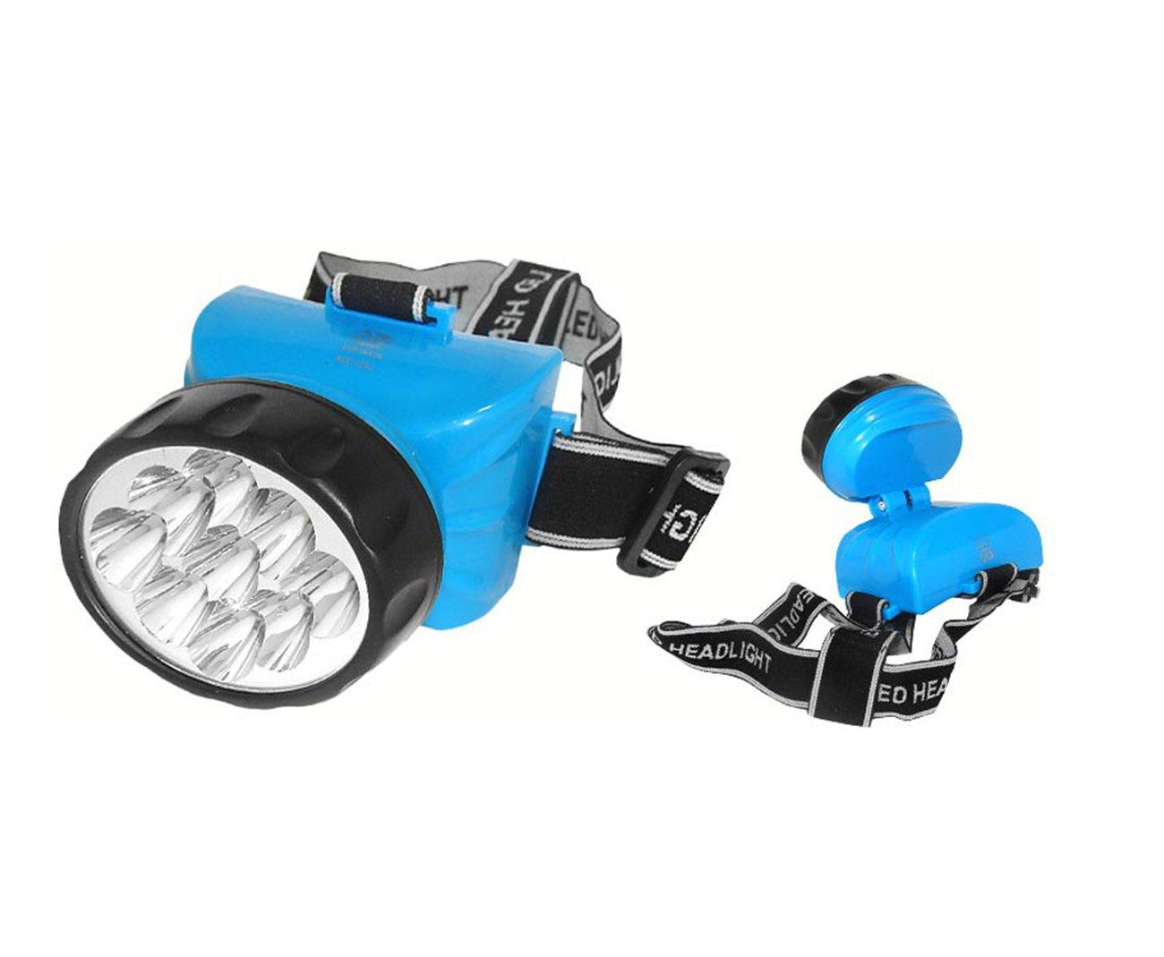 Lanterna Cabeça 722 B Recarregavel 12 Led - Albatroz