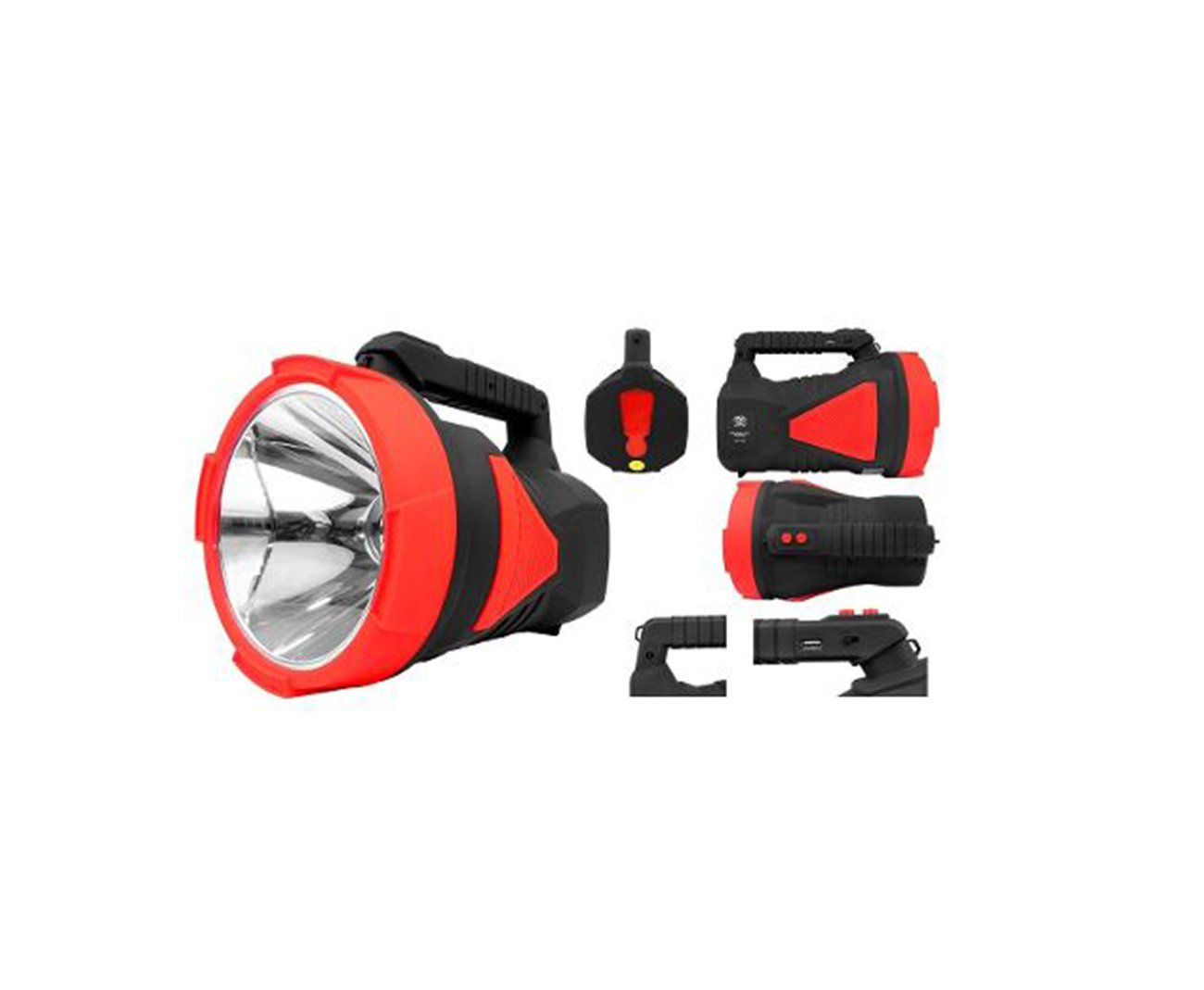 Holofote/lanterna Recarregavel 7054  1led 20w Alcance Até 1000 Metros - Albatroz