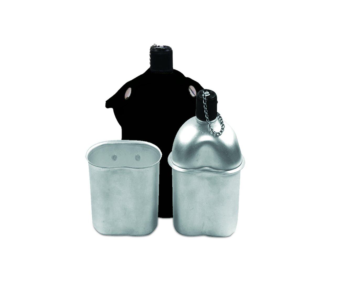 Cantil De Aluminio + Capa Preta + Copo De Aluminio - Echolife