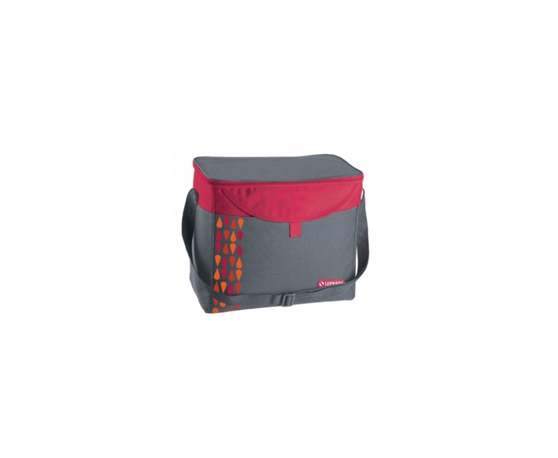 Cooler  Bolsa Termica 9,5l Vermelho - Soprano
