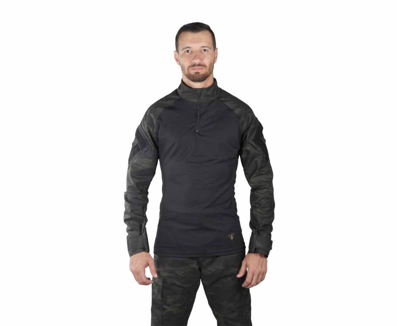 Camisa Combat Shirt Treme Terra Multicam Black - Treme Terra