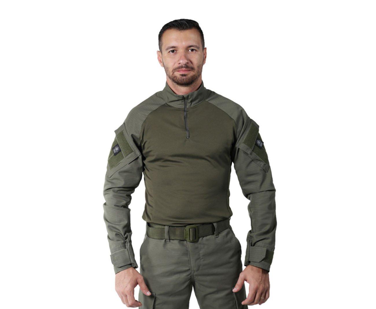 Camisa Combat Shirt Verde - Treme Terra