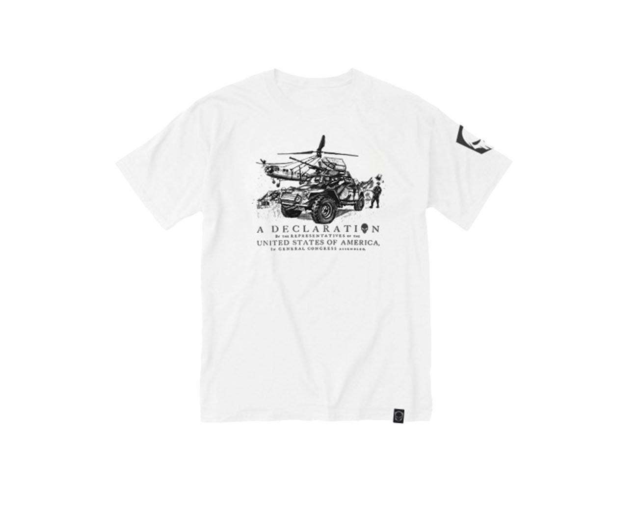 Camiseta Estampada Vintage 11-branco -  Bravo