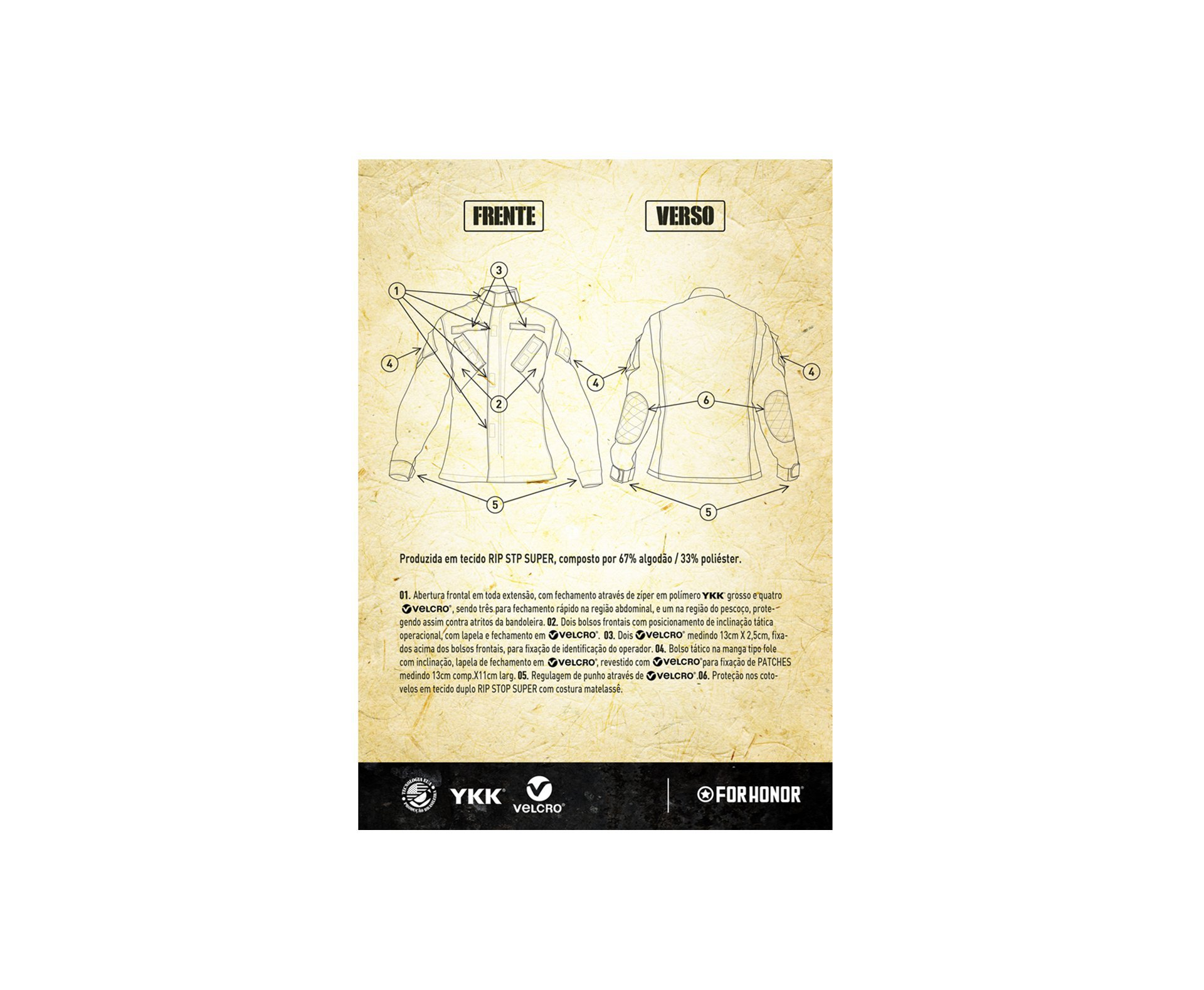 Gandola Tatica 811 Olive Drab - Forhonor - P