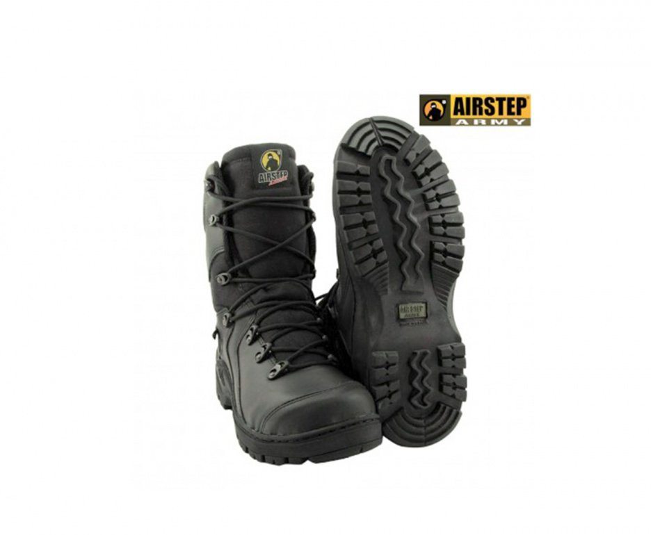 Bota Tática Black Squad 8990 Cano Alto - Airstep
