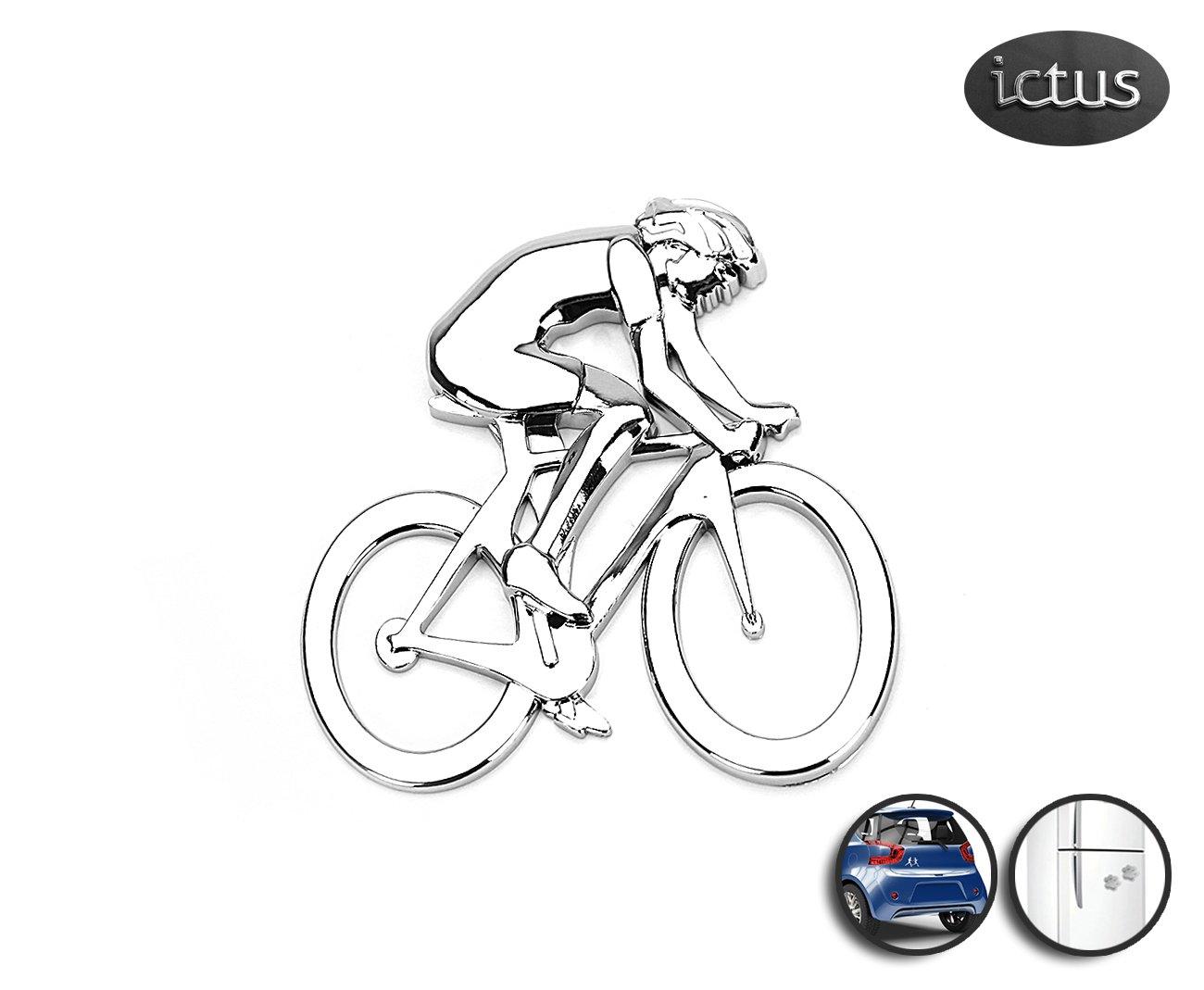 Emblema Ciclista - Ictus