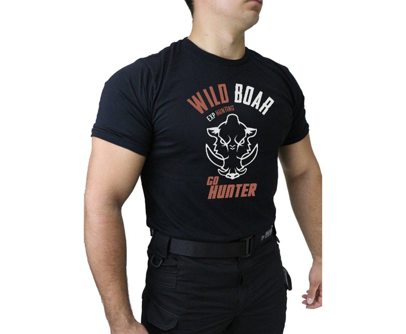 Camiseta Temática Hunting - 002 - Preto - Dacs