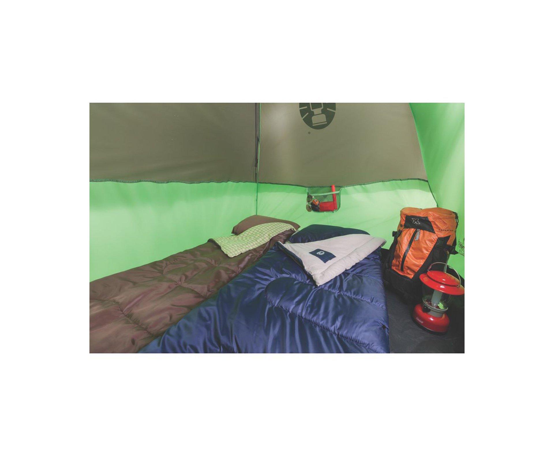 Barraca Camping Coral Reef 6 Pessoas 1800mm Coluna Dagua- Coleman