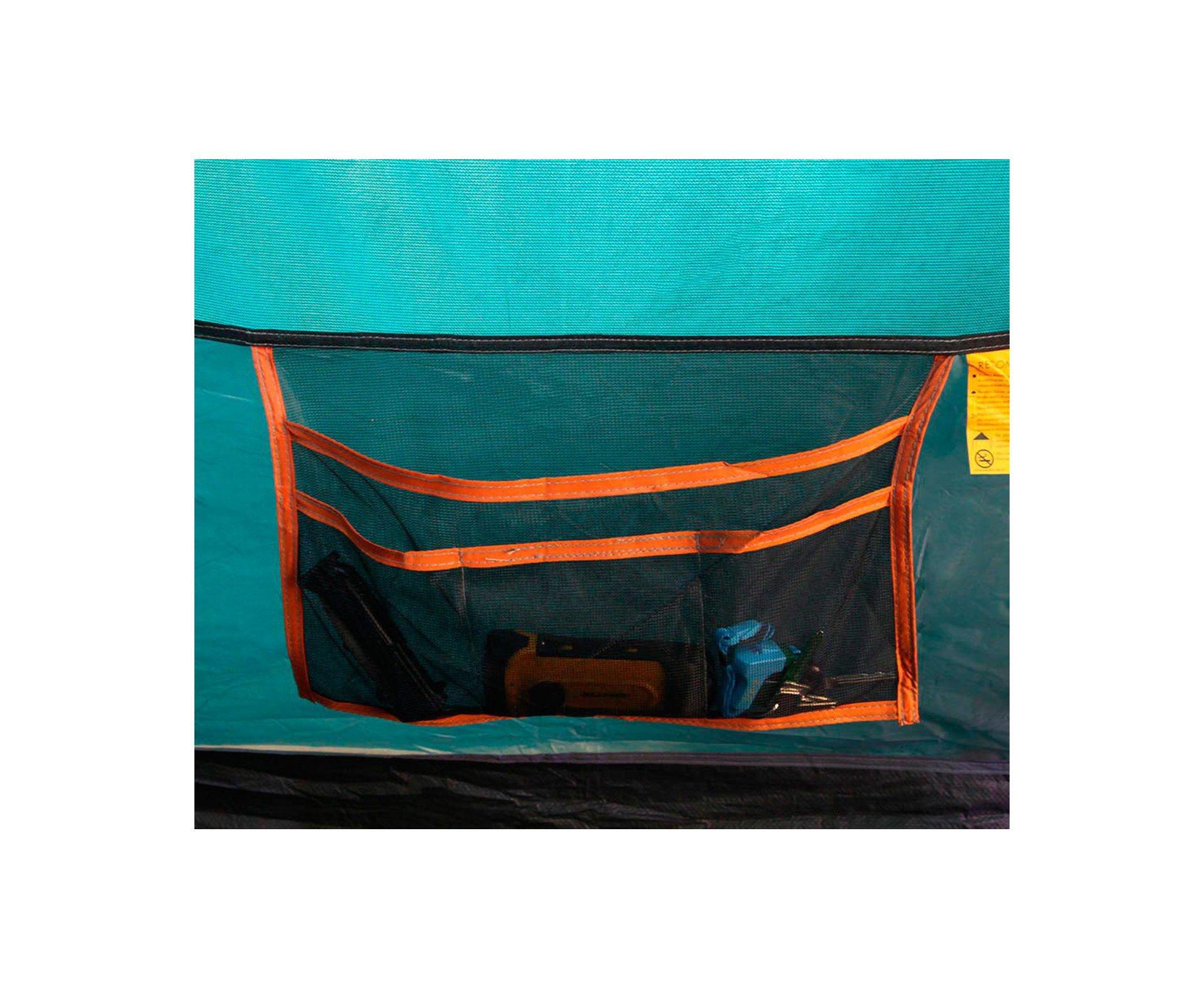 Barraca Camping Gt 5/6 Pessoas Savanah 2500mm Coluna Agua Nautika