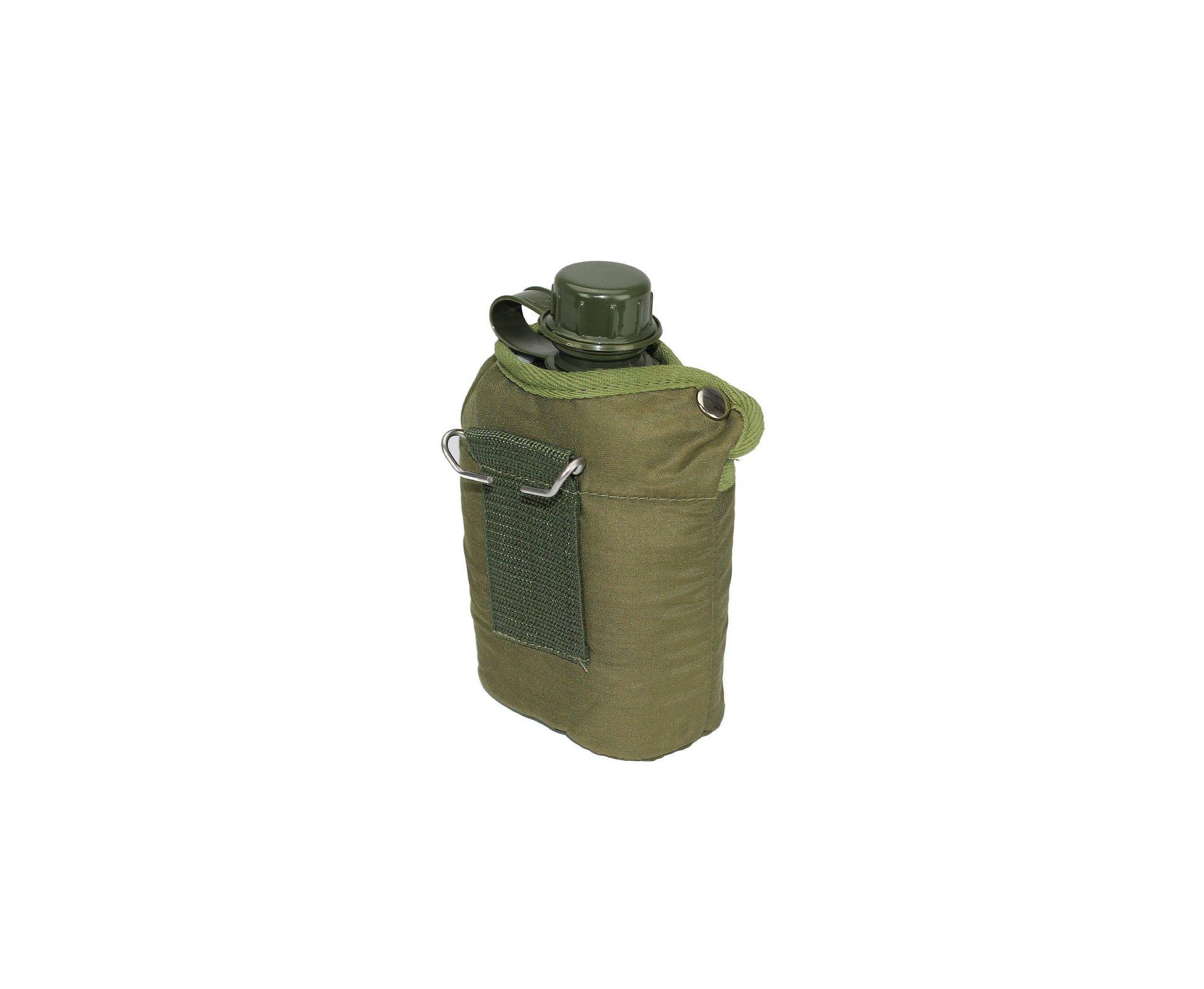 Cantil Plástico 0,9 Lts Verde Oliva - Nautika