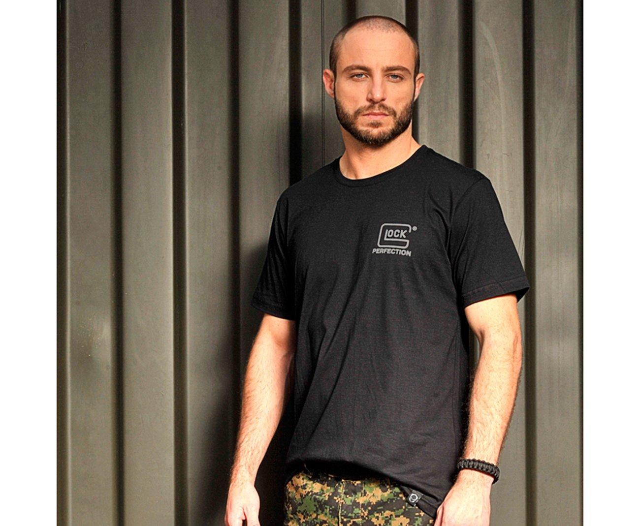 Camiseta Estampada Glock Cromada - Bravo