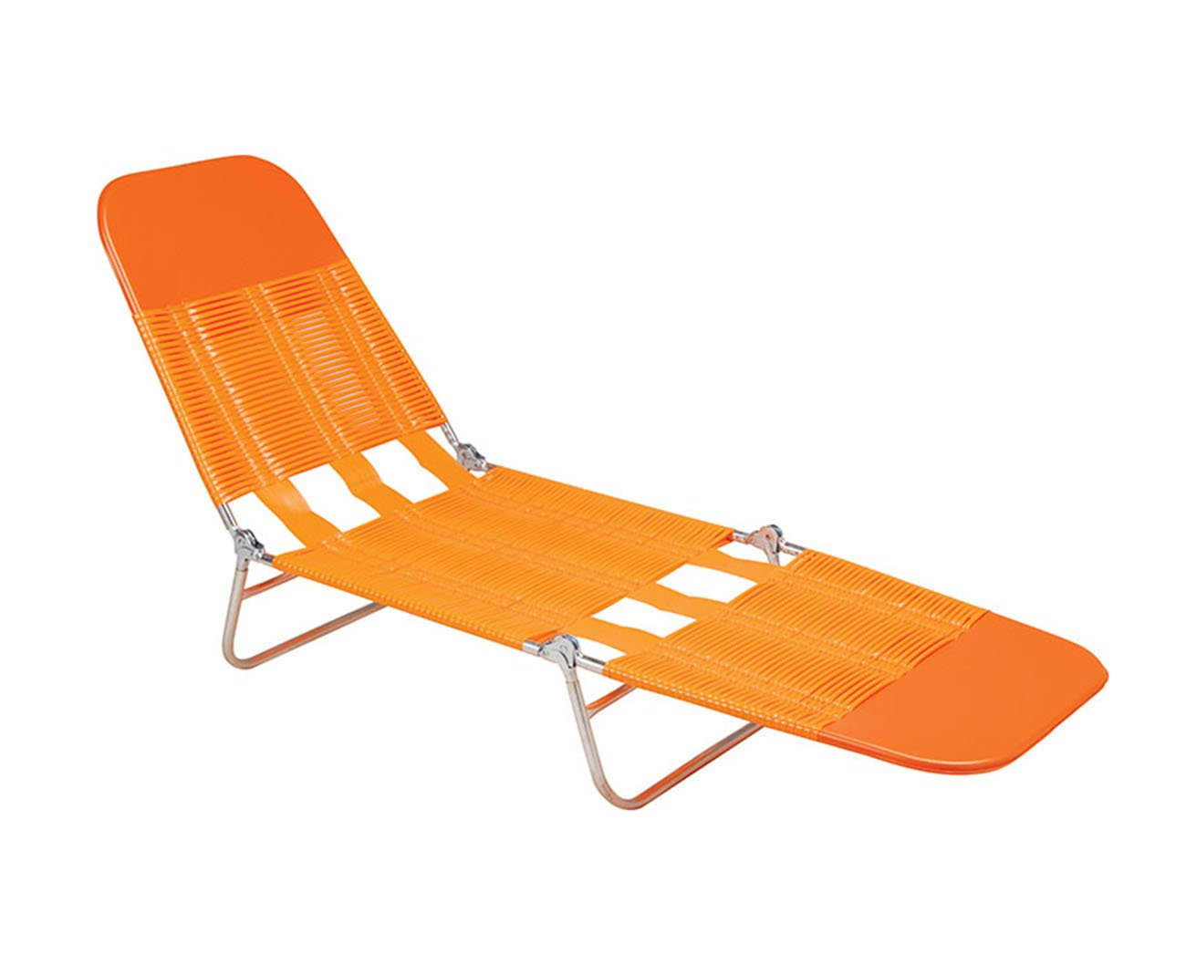 Cadeira Espreguiçadeira Pvc Laranja - Mor