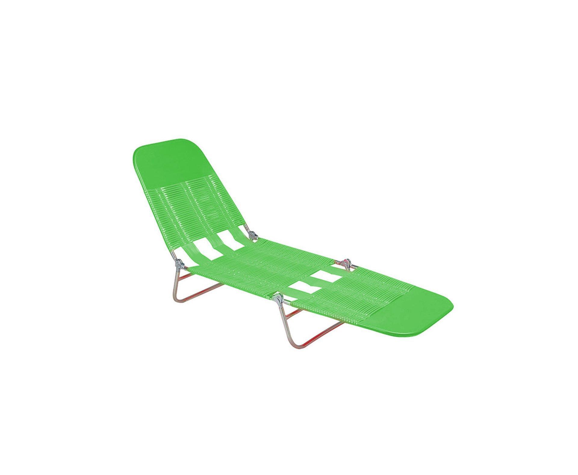 Cadeira Espreguiçadeira Pvc Verde - Mor